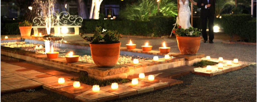 Detalle de alberca en jardín. Ladrillo manual 25x12x3 y baldosas de barro cocido 30x30x2