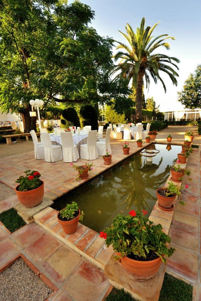 Baldosas de Barro patio mediterráneo