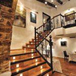 Escaleras de baldosas de barro cocido rectangular y suelo de terracota 22x36x2