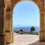 Arcos ladrillo de barro Mediterráneo