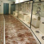 Suelo cerámico museo