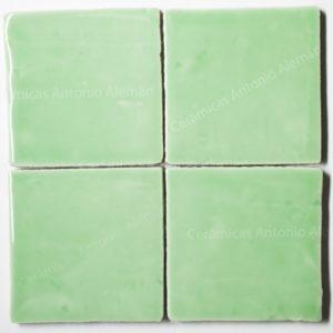 azulejo verde pastel