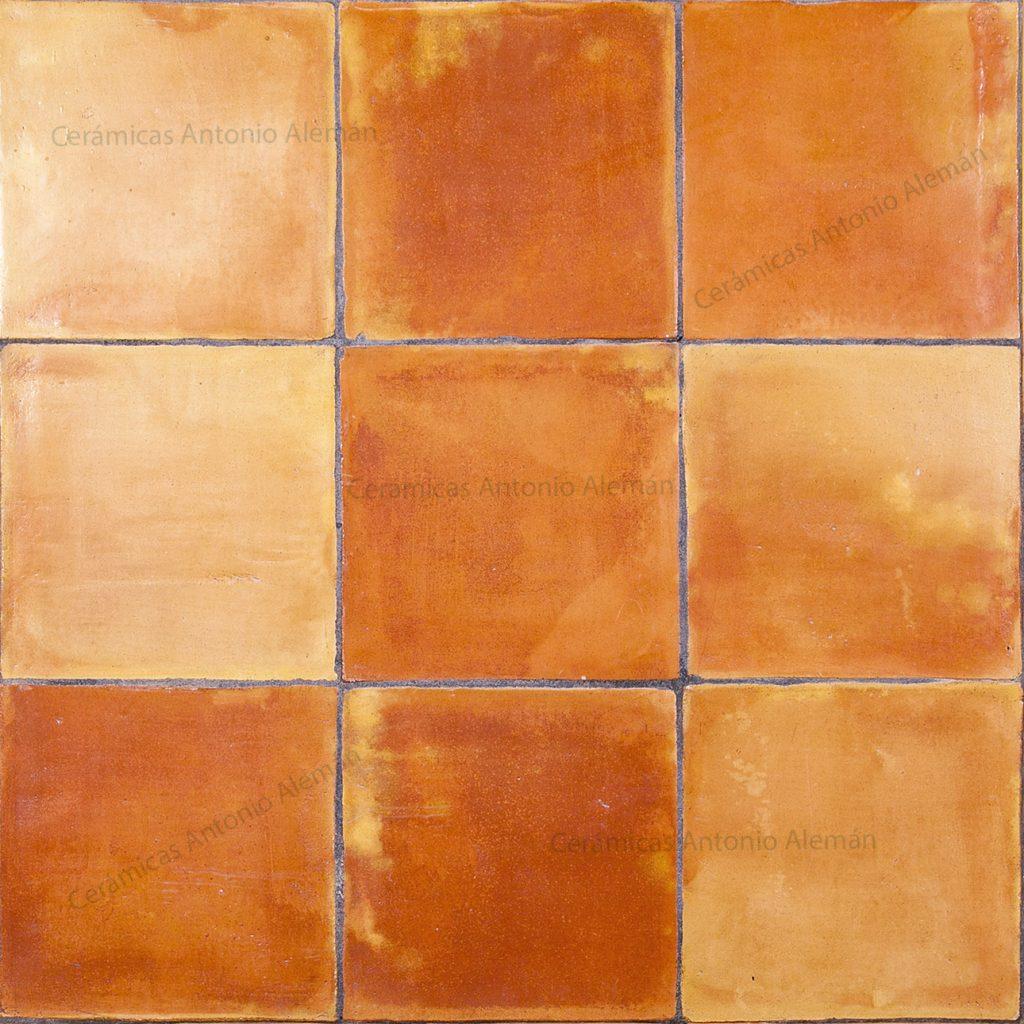 Baldosas de barro cuadradas para decoraci n r stica suelos pared - Tipos de baldosas ...