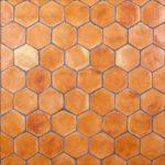 Baldosa de Barro Cocido Hexagonales 16 cm
