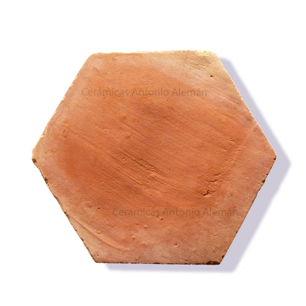 Baldosas de barro cocido hexagonales cer micas antonio for Baldosas de barro cocido