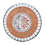mosaico en ladrillo rustico