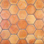 Suelo Terracotta Hexagono Envejecido 20cm