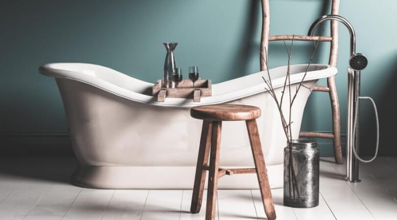 complementos baños rusticos