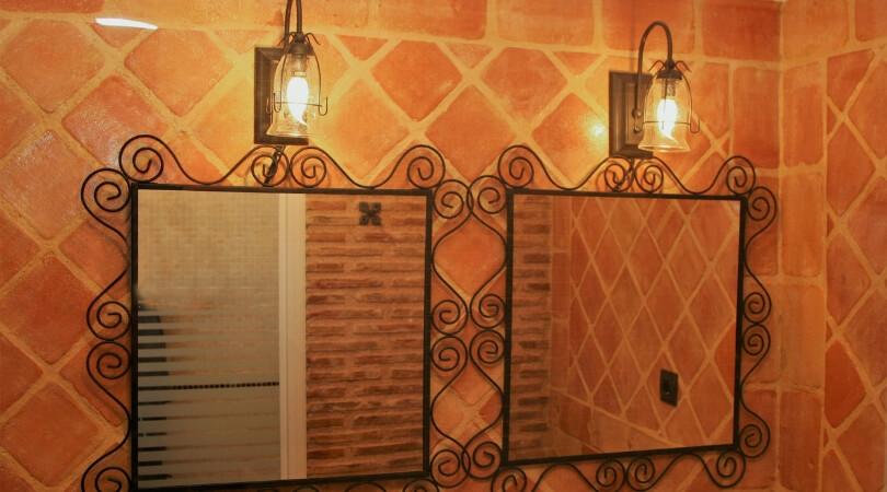 azulejos rusticos para baño
