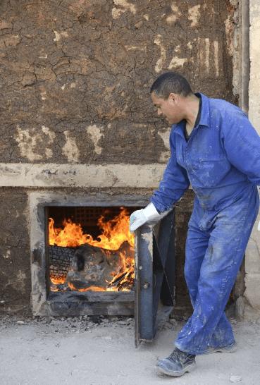 horno artesanal barro