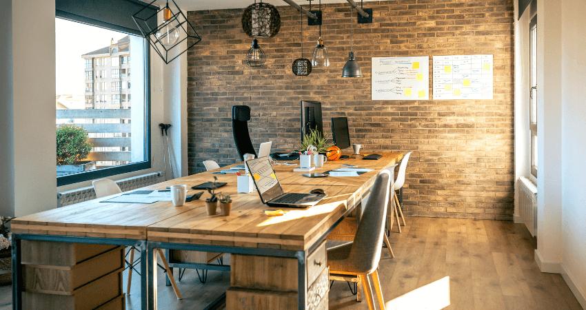 oficinas estilo industrial